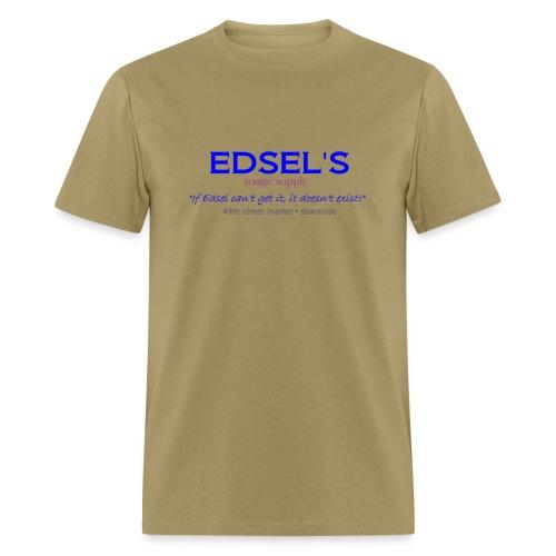 Edsel's Men's standard weight T blue print - Men's T-Shirt