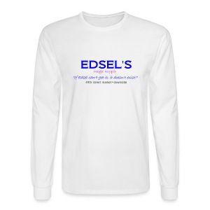 Edsel's Men's Long Sleeve T blue print - Men's Long Sleeve T-Shirt