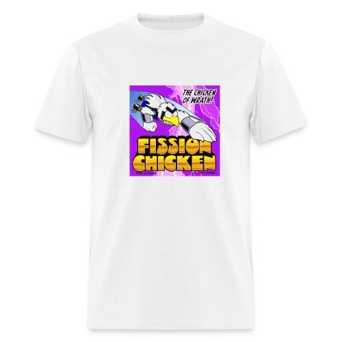 Fission Chicken Lightweight Tee (White) - Men's T-Shirt
