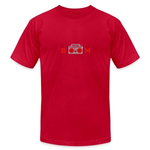 bOOmbox - Choose your own dark AA shirt color - Men's T-Shirt by American Apparel