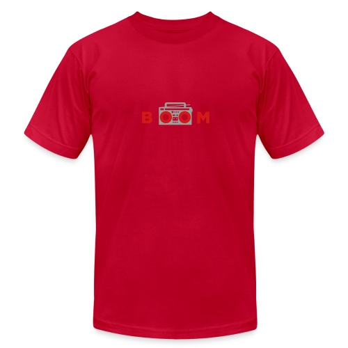 bOOmbox - Choose your own dark AA shirt color - Men's  Jersey T-Shirt