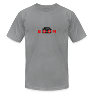 T-Shirts ~ Men's T-Shirt by American Apparel ~ bOOmbox - Choose your own light AA shirt color