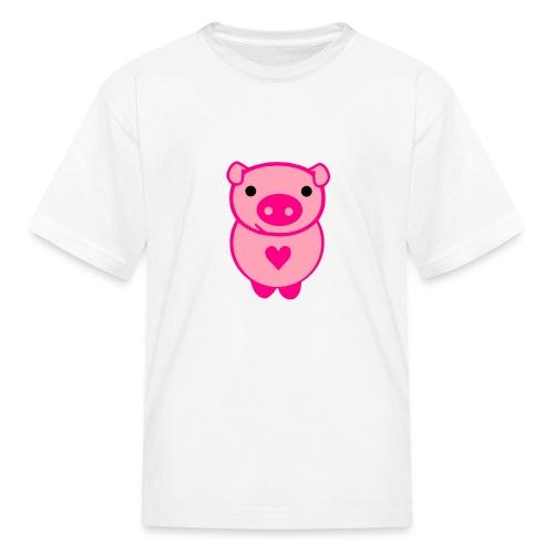 Kids Piggie Love Tee - Kids' T-Shirt