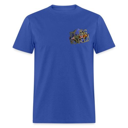 Men's Reg Weight Tee - Single Logo - Men's T-Shirt