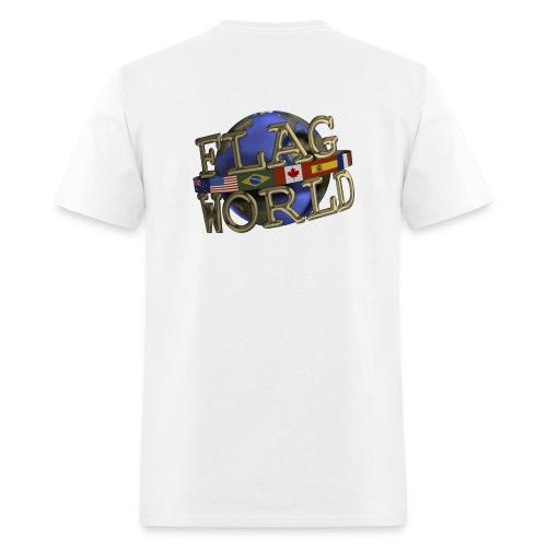 Men's Reg Weight Tee - Double Logo - Men's T-Shirt