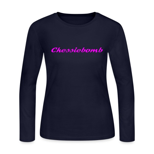 Chessiebomb Women's long sleeve jersey T - Women's Long Sleeve Jersey T-Shirt