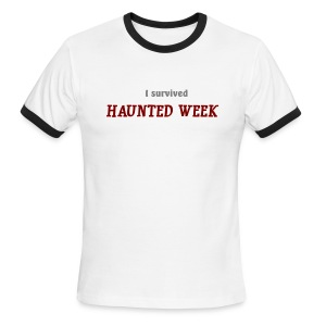 Haunted Week men's ringer T - Men's Ringer T-Shirt