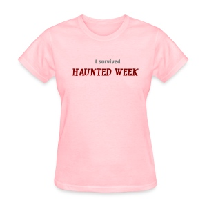 Haunted Week women's standard weight T - Women's T-Shirt