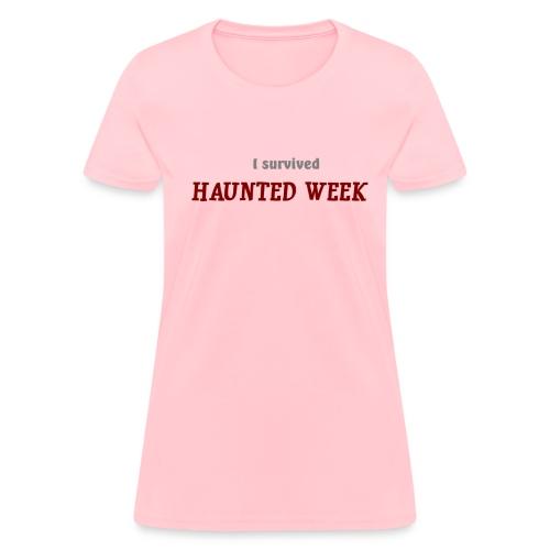 Haunted Week women's standard weight T - Women's T-Shirt