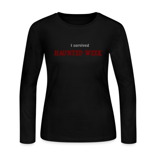 Haunted Week women's long sleeve jersey T - Women's Long Sleeve Jersey T-Shirt