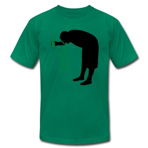 St. Patrick's Day Drunk - Men's T-Shirt by American Apparel