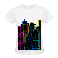 T-Shirts ~ Women's T-Shirt ~ [SHINee] Taemin's City