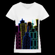 T-Shirts ~ Women's V-Neck T-Shirt ~ [SHINee] Taemin's City