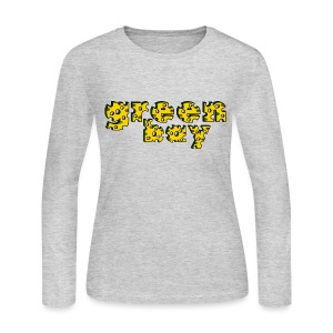 Cheese Bay Women's Long Sleeve Jersey Tee - Women's Long Sleeve Jersey T-Shirt