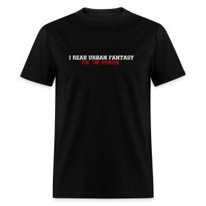 UF for violence men's standard weight T - Men's T-Shirt