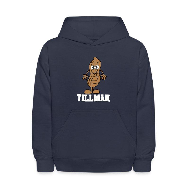 Peanut Tillman Kid's Hooded Sweatshirt - Kids' Hoodie