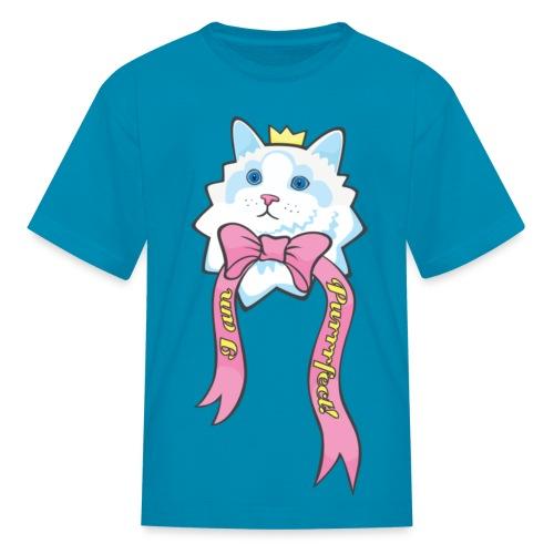 I Am Purrrfect Kawaii Cat Kids T-shirt - Kids' T-Shirt