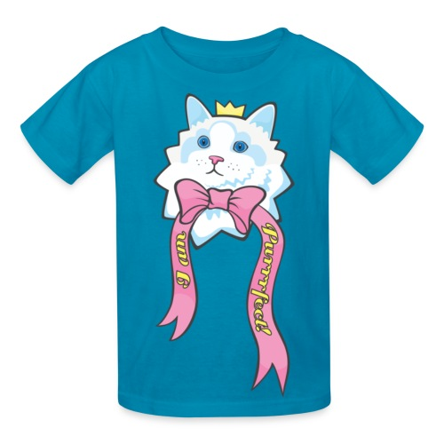 I Am Purrrfect Kawaii Cat Kids T-shirt - Kids' T-Shirt