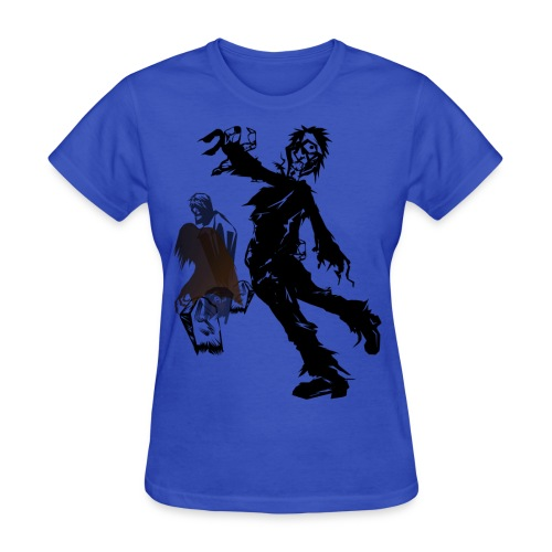 Zombie March - Women's T-Shirt