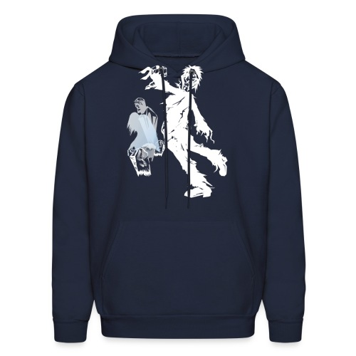 Zombie March -white- - Men's Hoodie