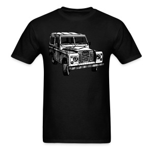 Classic Land Rover illustration - Men's T-Shirt