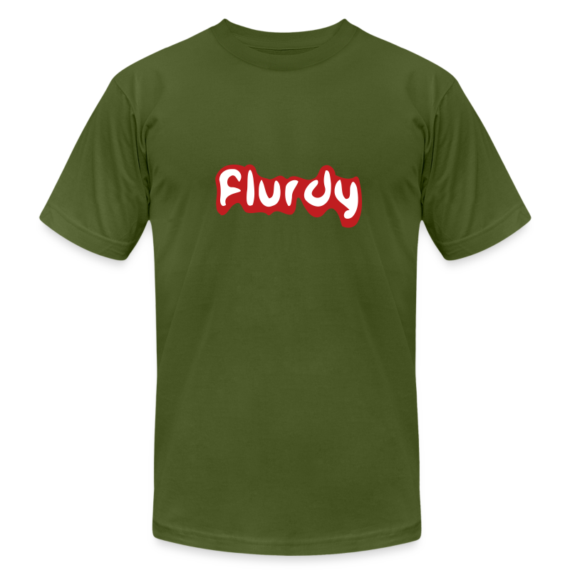flurdy - Men's T-Shirt by American Apparel