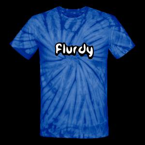 flurdy - Unisex Tie Dye T-Shirt