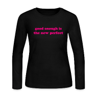 Long Sleeve Shirts ~ Women's Long Sleeve Jersey T-Shirt ~ The New Perfect Long Sleeve Jersey Tee