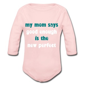 The New Perfect Little Girl One Piece - Long Sleeve Baby Bodysuit