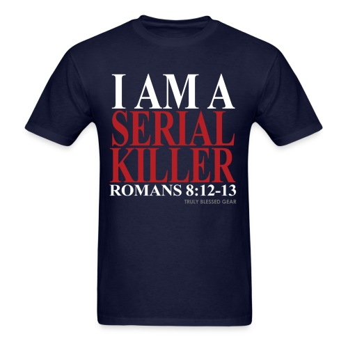 Serial Killer Blue - Men's T-Shirt