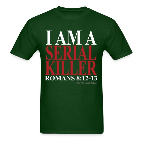 Serial Killer Green - Men's T-Shirt