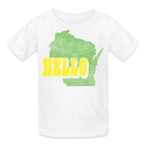 Hello Wisconsin - Kids' T-Shirt