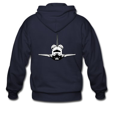 Spaceshuttle Zip Hoodies/Jackets
