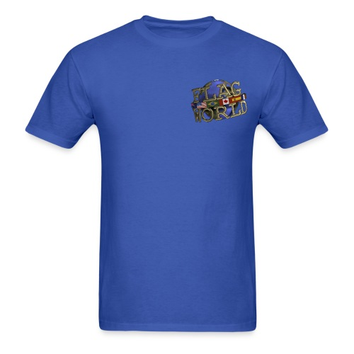 Men's Reg Weight Tee - Double Logo - Men's T-Shirt