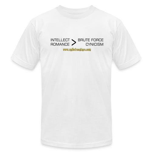 Intellect & Romance (AA T-Shirt) - Men's Fine Jersey T-Shirt