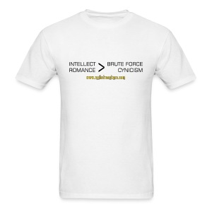 Intellect & Romance (T-Shirt) - Men's T-Shirt