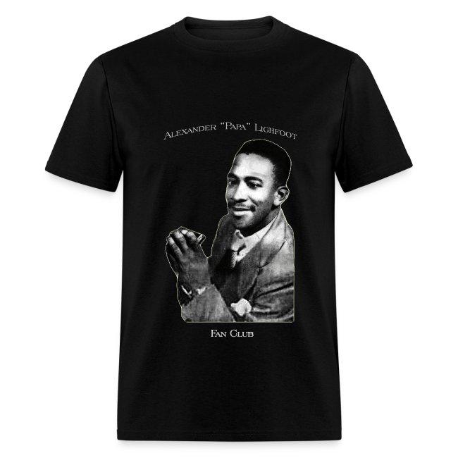 Papa Lightfoot Fan Club t-shirt