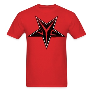 Mens Evil Underground tee [red] - Men's T-Shirt