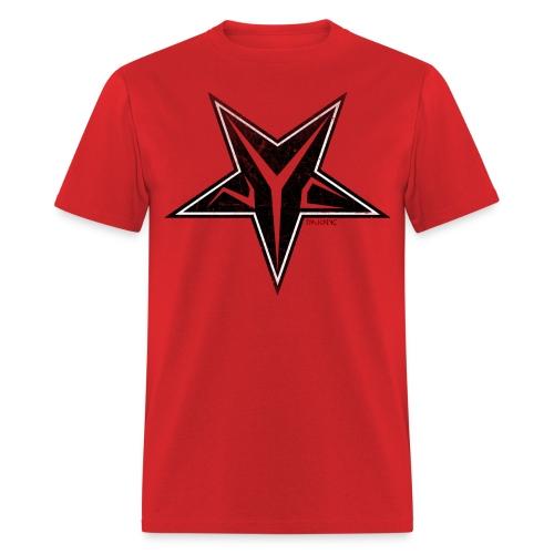 Mens Evil Underground tee [red] - Men's T-Shirt