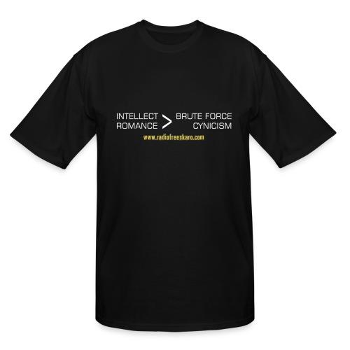 Intellect & Romance (Tall T-Shirt) - Men's Tall T-Shirt