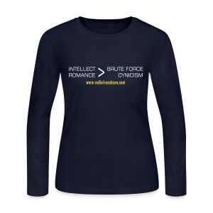 Intellect & Romance (Long Sleeve Tee) - Women's Long Sleeve Jersey T-Shirt