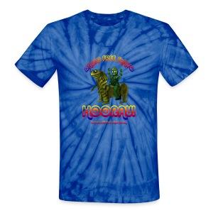 Hooray! (Tye Dye) - Unisex Tie Dye T-Shirt