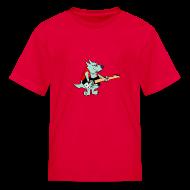 Kids' Shirts ~ Kids' T-Shirt ~ Guitar Dog - Kid's