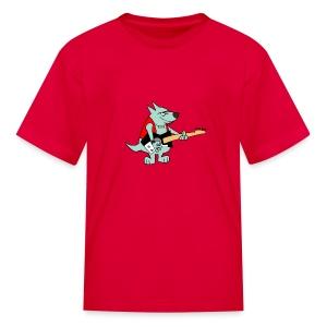 Guitar Dog - Kid's - Kids' T-Shirt