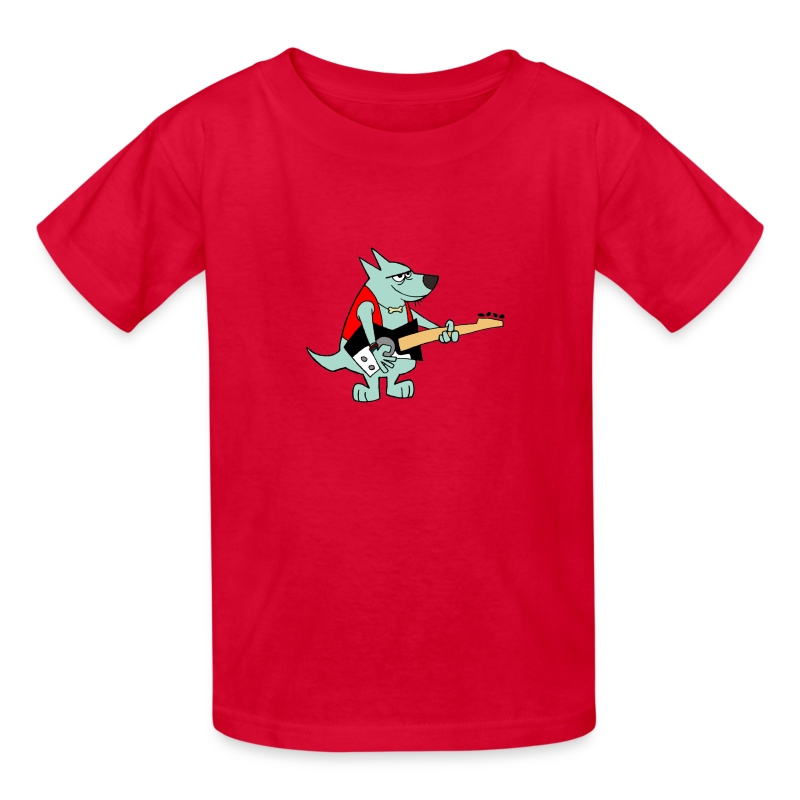 Guitar Dog - Kid's - Kids' T-Shirt