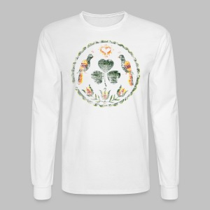 Irish Hex Symbol - Men's Long Sleeve T-Shirt