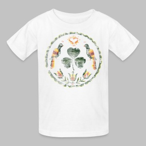 Irish Hex Symbol - Kids' T-Shirt
