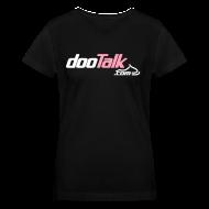 T-Shirts ~ Women's V-Neck T-Shirt ~ DOOTalk.com 'pink' Women's V-Neck Shirt