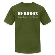 T-Shirts ~ Men's T-Shirt by American Apparel ~ HeroBox Classic