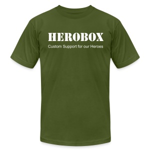 HeroBox Classic - Men's T-Shirt by American Apparel
